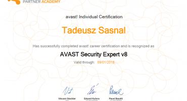 Uzyskaliśmy dwie nowe certyfikacje od Avast!