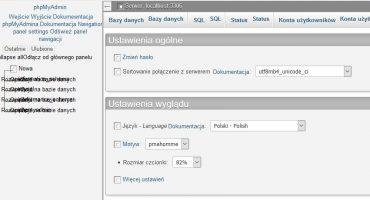 Jak naprawić obrazki w phpMyAdmin na Nginx