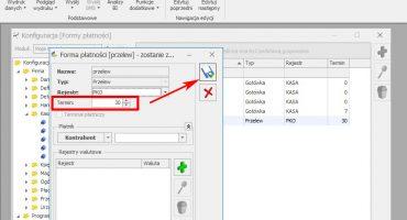 Zmieniamy domyślny termin płatności w Comarch ERP Optima