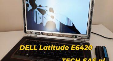 Wymiana matrycy w laptopie DELL Latitude E6420