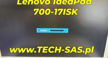 Usuwanie hasła z BIOS w Lenovo IdeaPad 700-17ISK