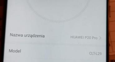 Naprawa Huawei 20 PRO (CLT-L29)