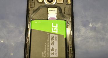 Wymiana baterii w Samsung Galaxy Xcover3 SM-G389F
