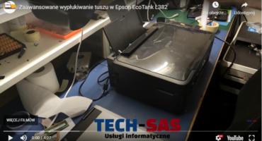 Zaawansowane wypłukiwanie tuszu w Epson L382